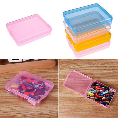 Jewelry Chip Boxs Storage Box Display Case Transparent Plastic Card Container