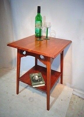 ANTIQUE ARTS & CRAFTS LIBERTY & Co OAK SIDE TABLE LIBERTY of LONDON SOFA TABLE