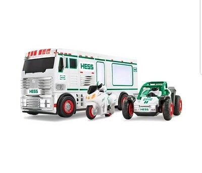 2018 Hess Truck RV With ATV And Motorbike Holiday Toy Truck Collectable  new
