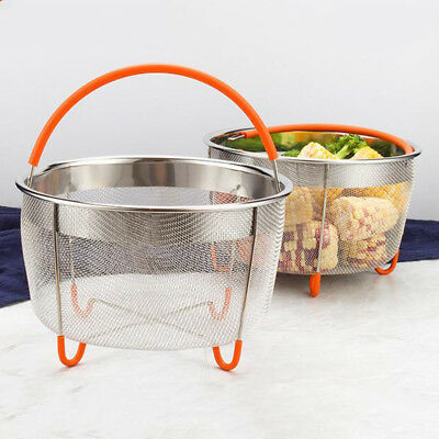 Stainless Steel Pressure Cooker Steam Basket for Vegetable with Handle