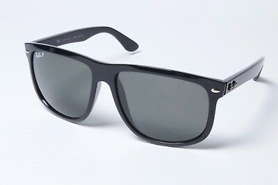8be50bfcbd8 Ray-Ban Square RB4147 601 58 Black Green Classic Sunglasses 60mm Polarized