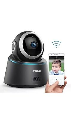 FREDI Wireless Camera Baby Monitor 1080P HD Wireless Security Camera With