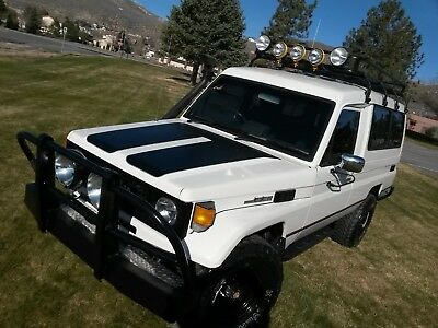 1988 Toyota Land Cruiser Troop Carrier HJ75 Toyota Land Cruiser
