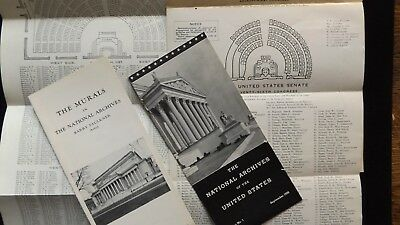 59th Congress Directory US House Representatives 71st & 76 US Senate - Extra's
