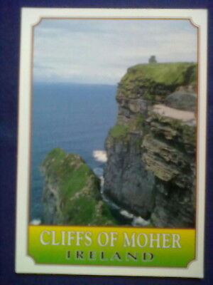 Ansichtskarte CLIFFS OF MOHER - IRELAND mit Briefmarke