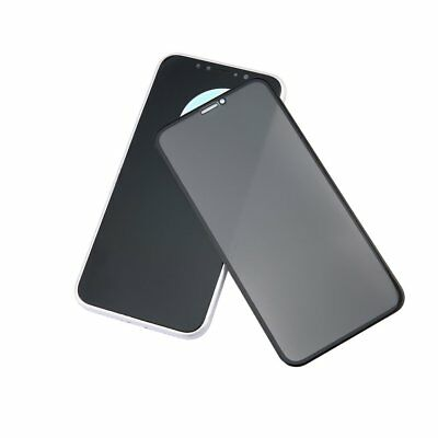 5D Tempered Glass Film Full Cover Privacy Screen Protective for iPhone X HZ