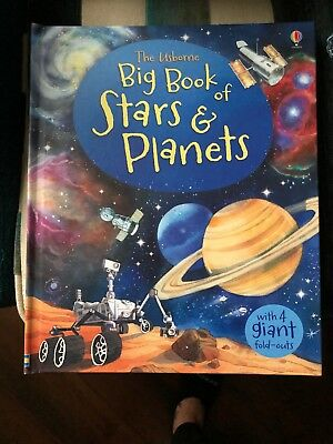 Usborne Big Book of Stars and Planets  (Hardback) NEW ~ FREE SHIPPING!
