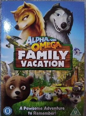 Alpha and Omega: Family Vacation DVD Richard Rich *NEW&SEALED*