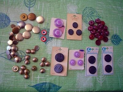 Antique/Vintage Mixed Lot of Buttons-Arts/Crafts-Some on Cards