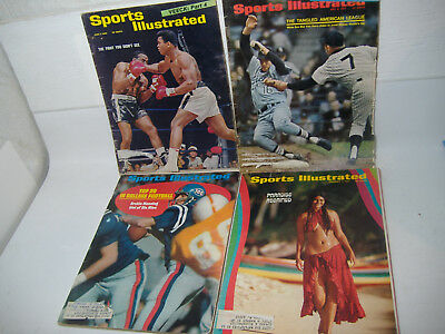 Lot Of 18 Sports Illustrated Issues Muhammed Ali Cassius Clay 1965-1999
