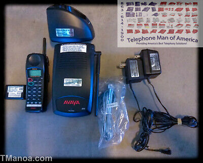Avaya Lucent ATT Partner Magix IPO Office 3910 700305113 Cordless Wireless phone