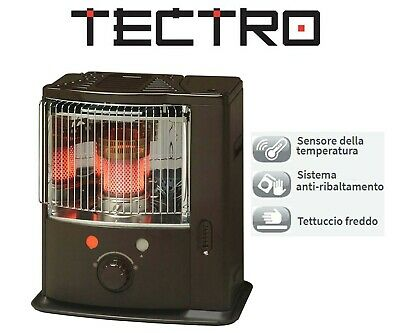Stufa Portatile Combustibile Liquido Stoppino 2200W 80Mc Made In Japan