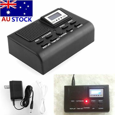 New Digital Telephone Call Phone Voice Recorder LCD Display w/ SD Card Slot DA