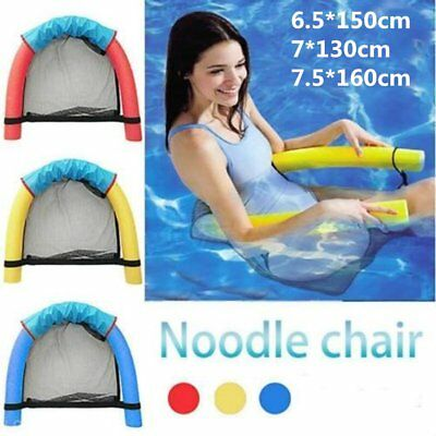 Universal Swimming Floating Chair Amazing Pool Noodle Chair Super Buoyancy AH