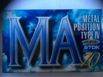 Tdk Ma 70 Metal Factory Sealed Audio Cassette Japan
