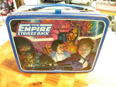 Vintage The Empire Strikes Back 1980  Star Wars Lunchbox