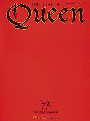 """""""The Best Of Queen"""" PIANO/VOCAL/GUITAR MUSIC BOOK-BRAND NEW ON SALE SONGBOOK!!"""