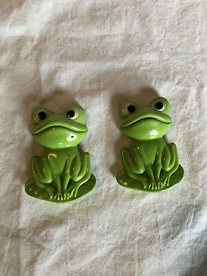 Ceramic Frog Wall Decorations