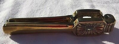 A Pair Of Antique Victorian Solid Brass Nutcrackers