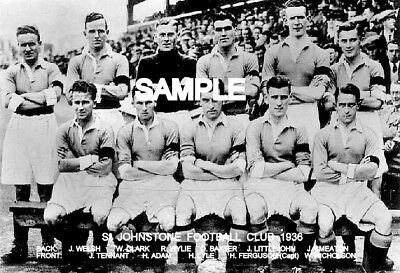 St. Johnstone FC 1936 Team Photo