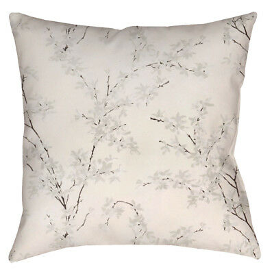 DESIGNER CUSHION COVER made from LAURA ASHLEY ''Forsythia Natural Drape'' Fabric