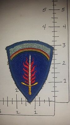 Nice Wwii German Made Us Army Berlin Dist. Patch