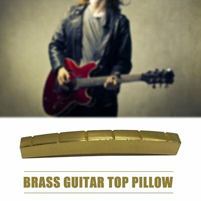42mm Pre-Slotted Brass Nut Replace for 6 String Electric/Acoustic Guitar M1894 K