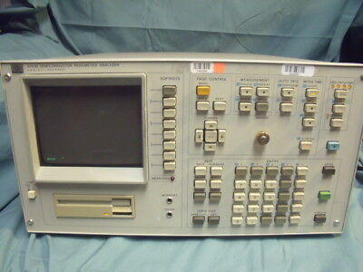 HP 4145B Semiconductor Parameter Analyzer For Parts! T13