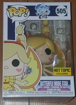 Funko Pop Disney #505 Butterfly Mode Star vs Forces of Evil Hot Topic Exclusive
