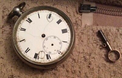 Antique La pive Pocket Watch ( Spares Or Repair )