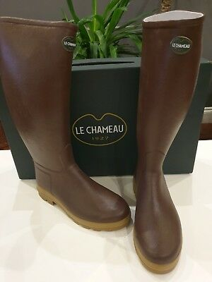 ***CHEAPEST ON *** LE CHEAMEAU MEN/'S SAINT HUBERT LEATHER LINED RRP £260.00