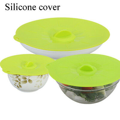Shed Cover Fresh Spill Stopper Silicone Lid Bowl Pan Universal Pot Covers