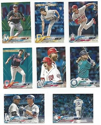 2018 Topps Mini (Online Exclusive) Blue Parallel #/10 -Pick Your Card From List