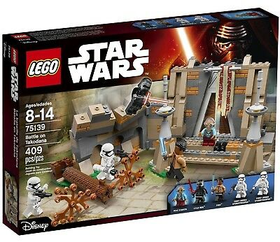 Lego 75139 Star Wars Battle On Takodana, New, Retired, Factory Sealed Box