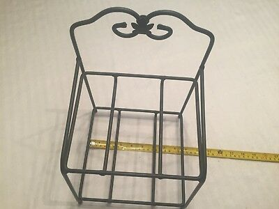 Longaberger Double  Little Bin Wrought Iron Stand Rack