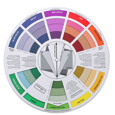 Pocket Guide To Mixing Color The Color Wheel Artist Paint Mixing