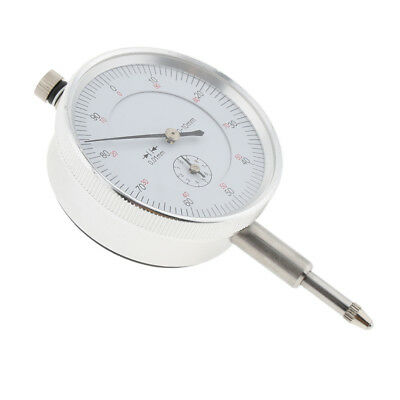 Reliable Dial Test Indicator Gauge Lug Back Metric Range 0-10mm, 0.01mm