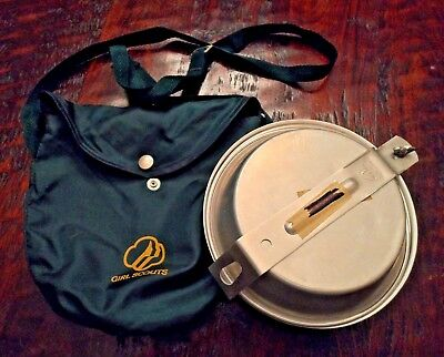 Girl Scouts mess kit retro cool camping pans campfire cooking