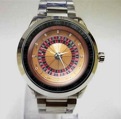 roulette wheel Betting Polos European Design Style Accessories Sport Watch