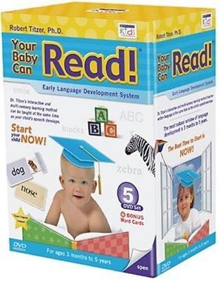 New Your Baby Can Read Early Learning Infants Toddlers Children English Language