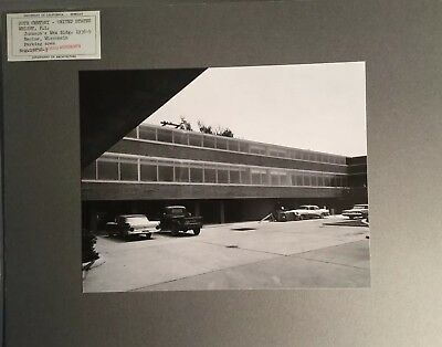 Original Photo UC Berkeley  Architecture - FRANK LLOYD WRIGHT Johnson's Wax