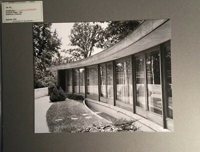 Original Photo UC Berkeley  Architecture - FRANK LLOYD WRIGHT Levin Residence
