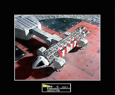"""SPACE 1999 Eagle 2 Launch Pad 8"""" x 10"""" Photo -11"""" x 14"""" Black Matted"""