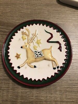 Sowing the seeds Christmas mini plate set