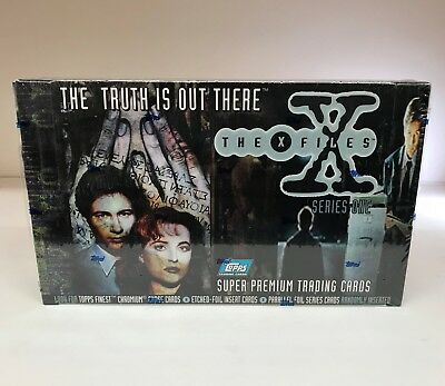 The X-Files Season One 1 - Sealed Trading Card Hobby Box - Topps 1995