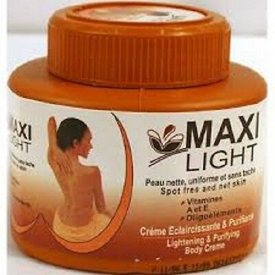MAXI LIGHT Lightening & Purifying Body Cream 18.9oz (550ml) each