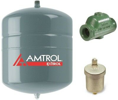 Amtrol EX-30 Expansion Tank Air Scoop Kit Hydronic Heating System 4.4 Gal.