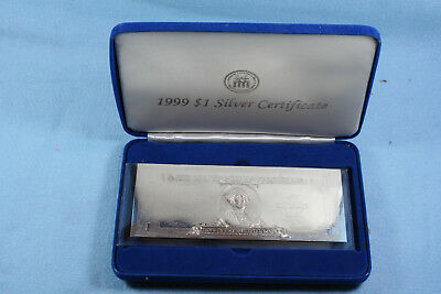 National Collector's Mint 1999 $1 Silver Certificate