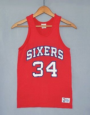 c55dc41d77e ... official store philadelphia sixers 76ers charles barkley 34 boys sz  youth medium shirt jersey f2556 166e7