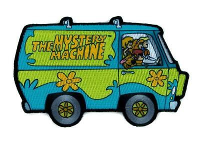 Scooby Doo: Mystery Bus Embroidered Iron On Patch - Dog Machine Cartoon 162